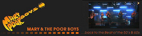 Bands in der Pfalz - Mary & The Poor Boys