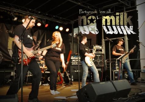 Bands in der Pfalz - No Milk
